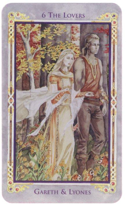 The Legend Arthurian Tarot The Card Lover