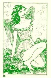 Green 13 Angel of Spring