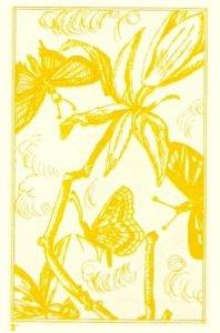 Yellow 3 Butterflies