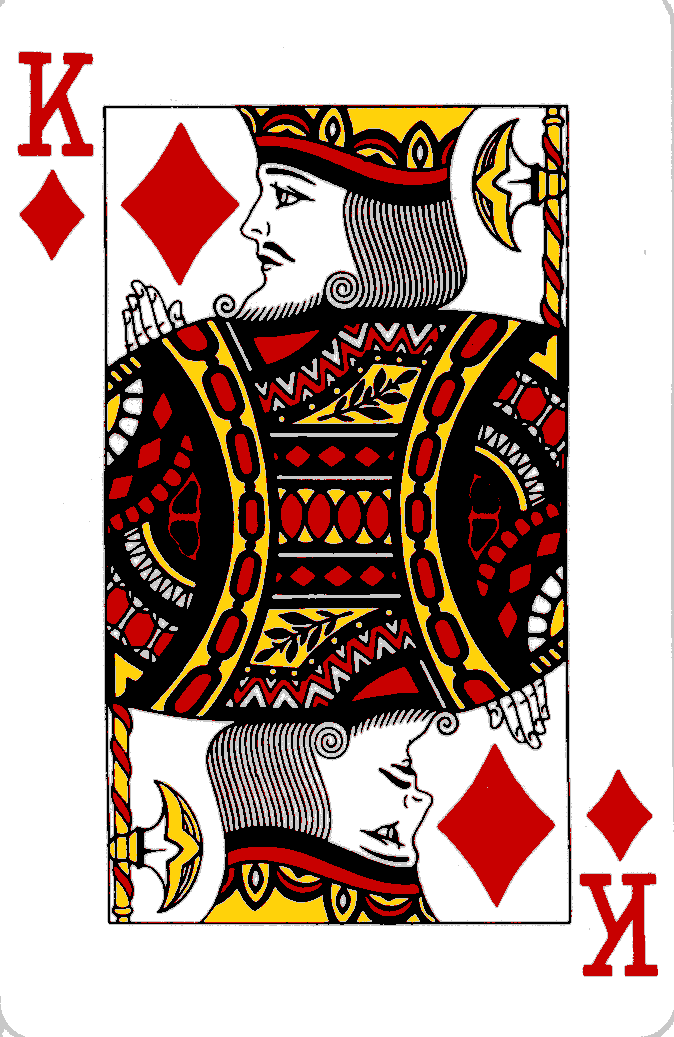 Reading With Playing Cards