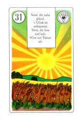 31 Sun Birds Lenormand Card Meaning And